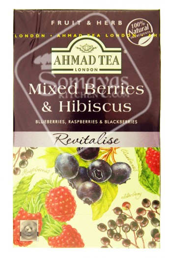 Ahmad Tea Mixed Berries & Hibiscus Tea Bags