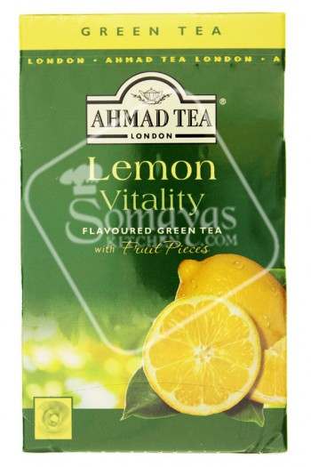 Ahmad Tea Lemon Flavoured Green Tea