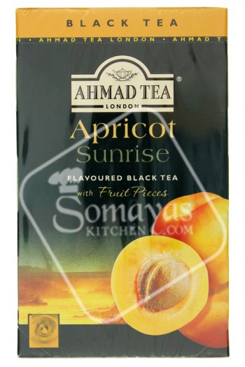 Ahmad Tea Apricot Flavoured Black Tea 40g