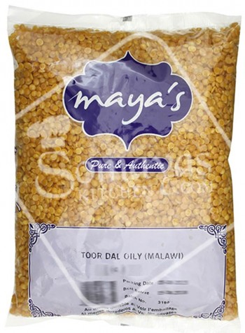 Vidyas Toor Dal Oily 2kg