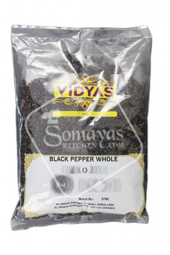 Vidyas Black Pepper Whole 700g