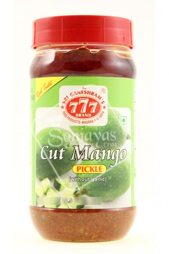 777 Mango Cut Pickle 300g