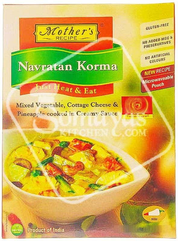 Mothers recipe navratan korma online shopping in the uk somayas mothers recipe navratan korma forumfinder Gallery