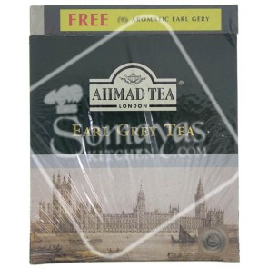 Ahmad Tea Earl Grey Tea 100 Tea Bag 200g