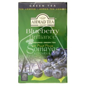Ahmad Tea Blueberry Flavoured Green Tea