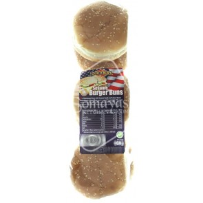 Quickbury Sesame Burger Buns 300g