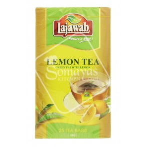 Lajawab Lemon Tea 25 Tea Bags 50g