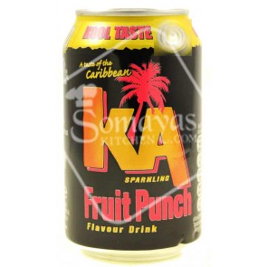 Ka Sparkling Fruit Punch Flavour Drink 330ml