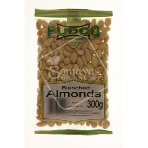 Fudco Almonds Blanched 250g