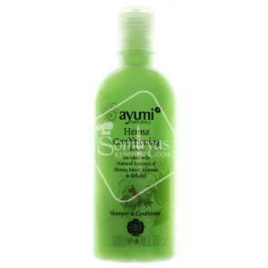 Ayumi Natural Heena Conditiong Shampoo 200ml