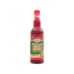 Grace Tropical Fruit Punch Flavour Syrup (750ml)
