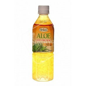 Grace Aloe Vera Mango Flavour Drink 500ml