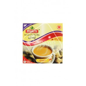Mukti Instant Ginger Tea Unsweetened Chai Pre-Mix (140g)
