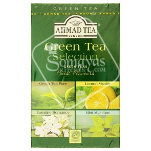 Ahmad Tea Selection Green Tea Bags