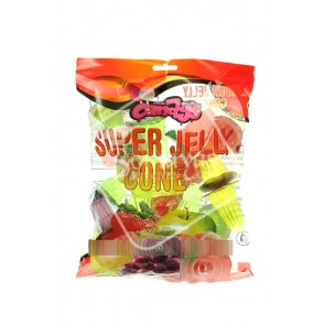 Candys Super Jelly Cone 380g