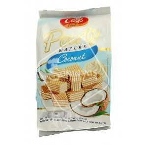 Gastone Lago Coconut Party Wafers 250g