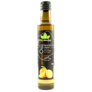 Bioitalia Organic Orange Extra Virgin Olive Oil (250ml)
