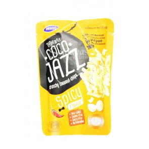Hesco Coco Jazz Crunchy Coconut Chips Spicy Flavour 40g