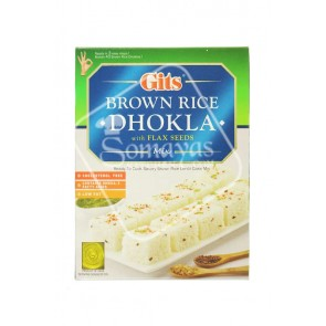 Gits Brown Rice Dhokla With Flax Seed 500g