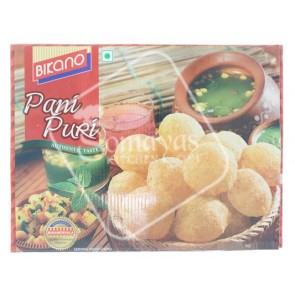 Bikano Pani Puri Ready To Eat Set (300g)