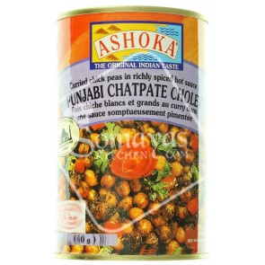 Ashoka Punjabi Chatpate Choley Can 450g