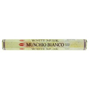 Hem Hexa White Musk Incense 20 Sticks