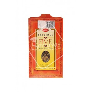 Hem 5 In 1 Exotic Incense Sticks Multi pack 5 Pack