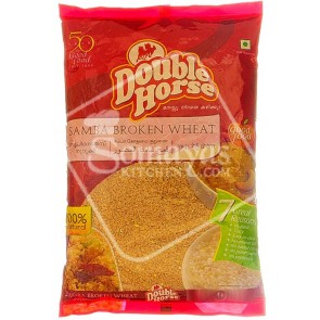 Double Horse Samba Wheat Broken 1kg