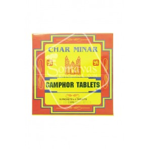Char Minar Camphor Tablet 16 Packets x 4 Tablets