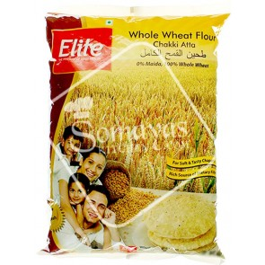 Elite Chakki Atta Whole Wheat Flour (2kg)