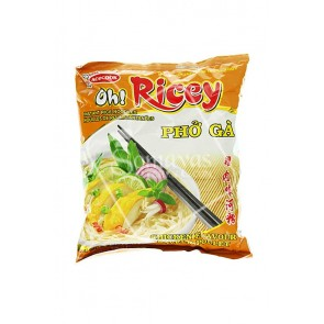 Acecook Oh!Ricey Pho Ga Instant Chicken Noodles (70g)