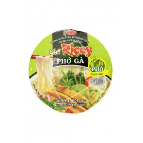 Acecook Oh!Ricey Pho Ga Chicken Flavour Noodles (70g)