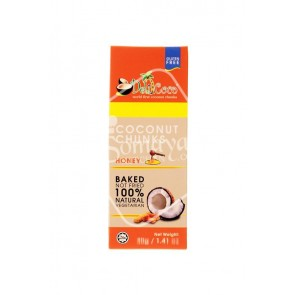 Delicoco Coconut Chunks Honey Flavour 40g