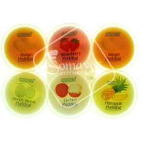 Cocon Assorted Fruit Flavour Pudding 6x80g