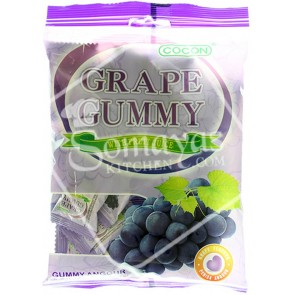 Cocon Grape Gummy Jelly (100g)