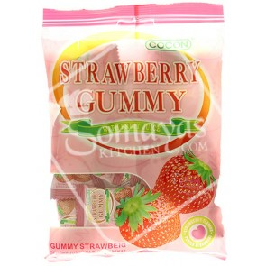 Cocon Strawberry Gummy Jelly (100g)