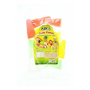 Azka Jelly Cones Assorted Fruit Flavour Jelly (336g)